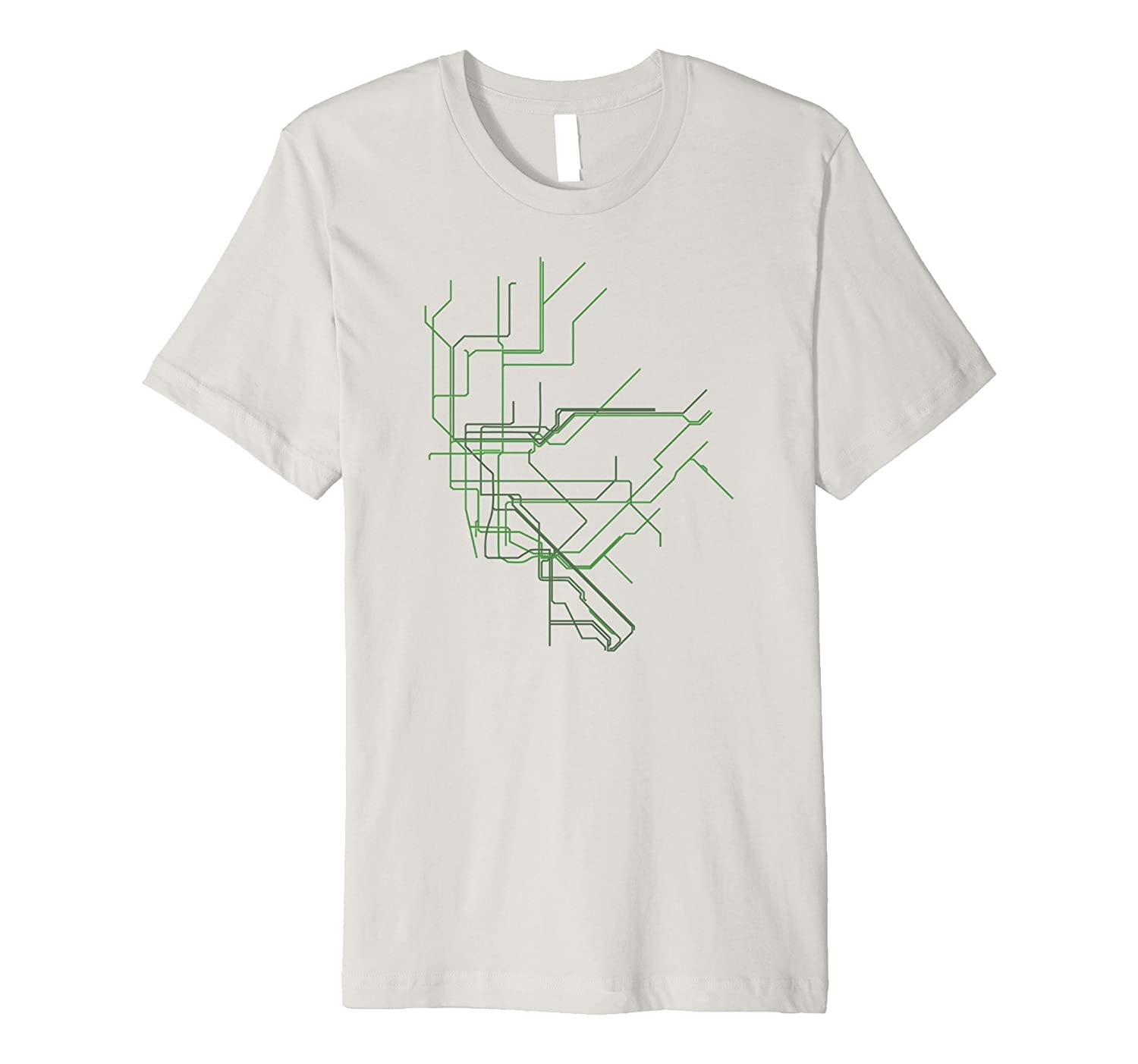 Nyc Subway Map T Shirt.New York City Nyc Subway Map Line Art Shirt