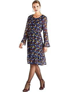 8d2d9ea6c18d Dress Jacquard Accessoires Yumi Vêtements Et Floral Burnout Hqwt6xCZ