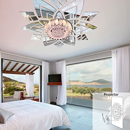 Incredible Buggy Creative 3D Stereo Mirror Wall Stickers Decorating The Interior Design Ideas Tzicisoteloinfo