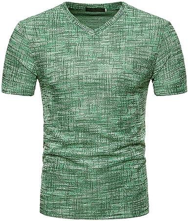 Oliviavan Camiseta para Hombre, Camiseta De Manga Corta Imagina Impreso Pullover Top Blusa Joven Hombre Camisetas Casual: Amazon.es: Ropa y accesorios