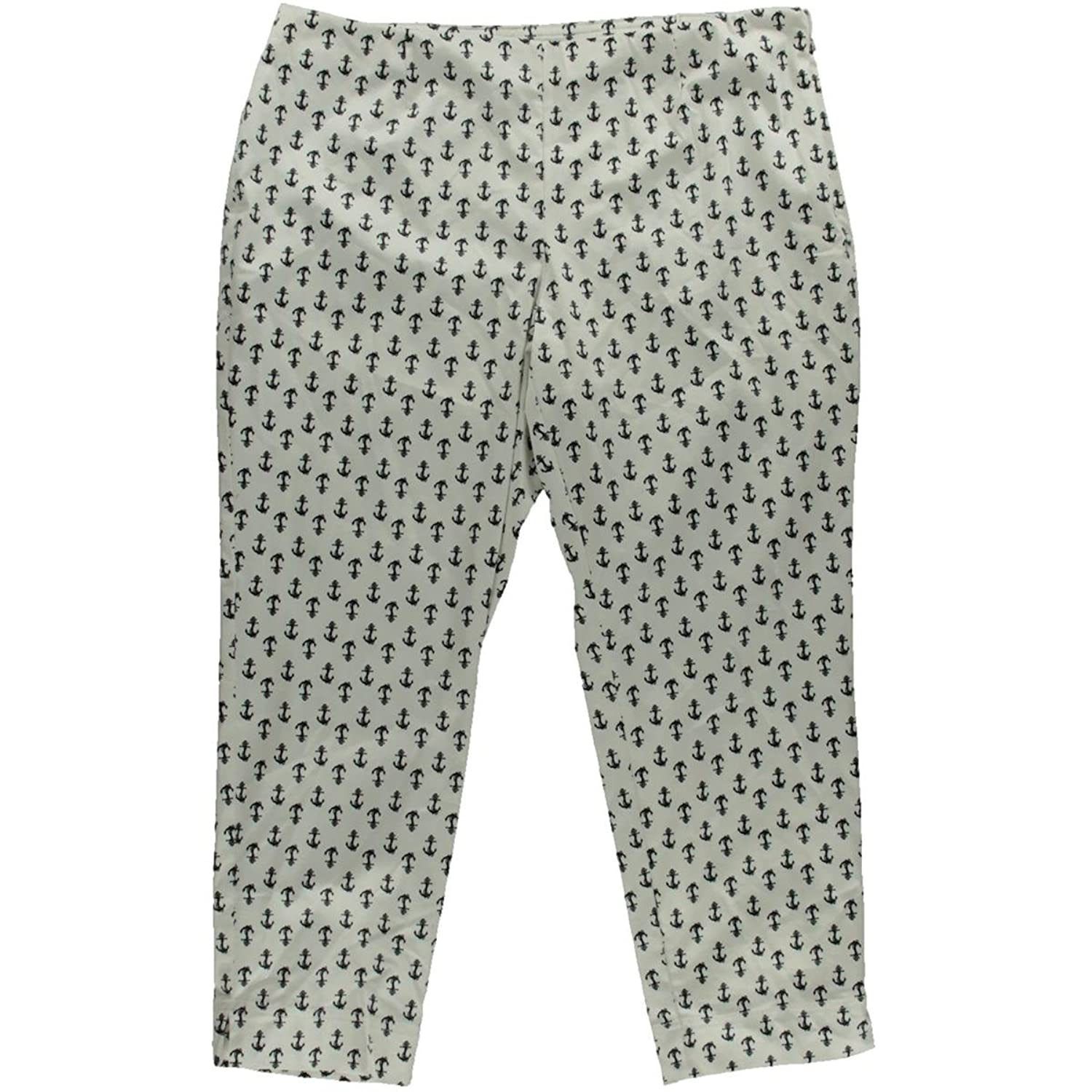 Charter Club Womens Classic Fit Printed Ankle Pants
