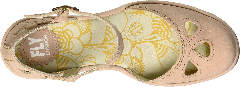Fly London Yuna, Escarpins Bout fermé Femme Rose Nude Pink 146