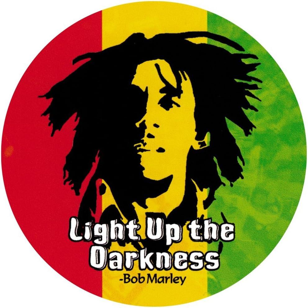 Bob Marley Face Sticker Car Bumper Decal 3/'/' 5/'/' or 6/'/'