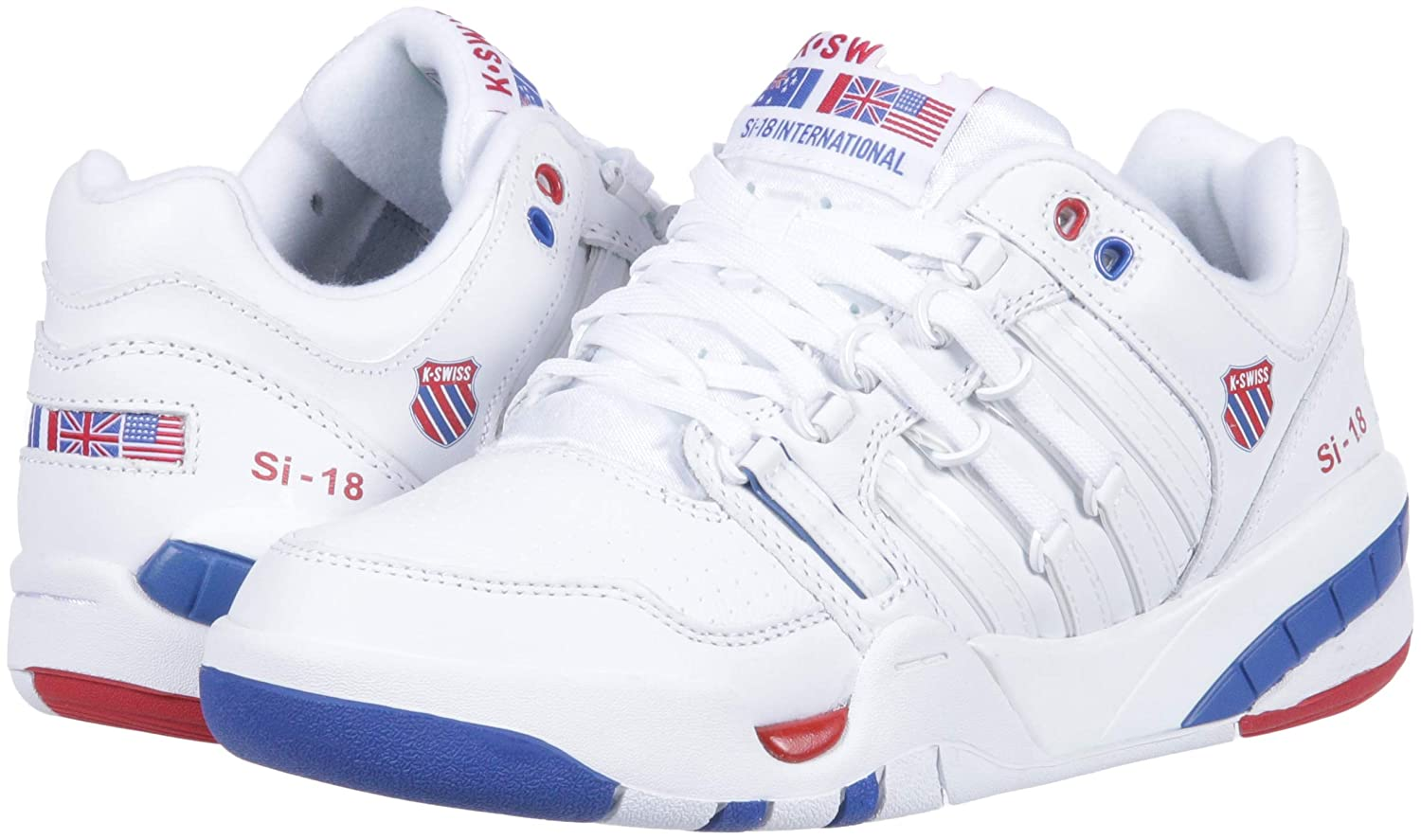 Amazon.com | K-Swiss Womens Si-18 International Sneaker | Fashion Sneakers