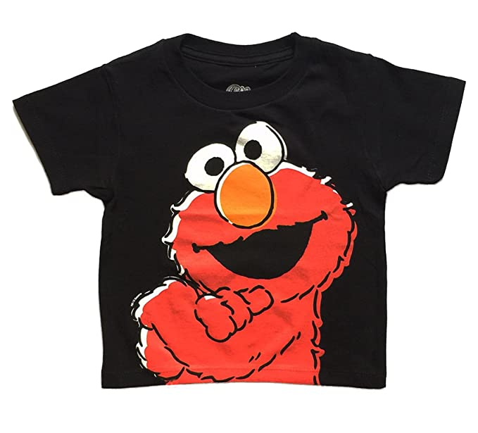 Amazon Com Sesame Street Elmo Cool Kid Little Boys Toddler T Shirt