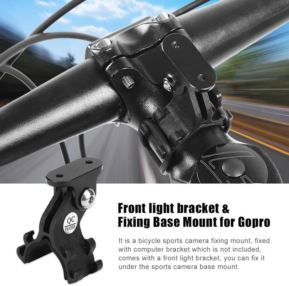 Bicycle Bike Computer Odometer Mount Flashlight Action Camera Extension Support