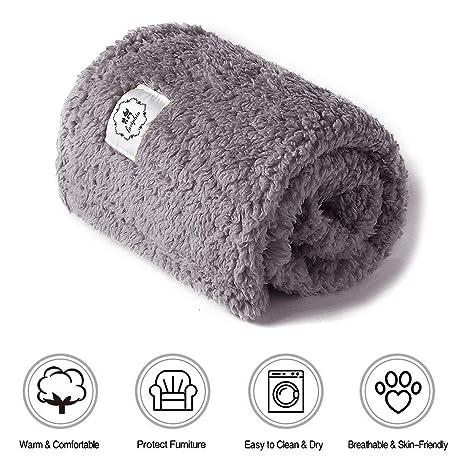 Amazon.com: Luciphia - Manta suave y gruesa para mascotas ...