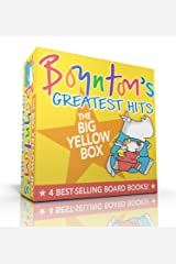 Boynton's Greatest Hits The Big Yellow Box: The Going-to-Bed Book; Horns to Toes; Opposites; But Not the Hippopotamus Board book