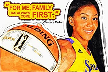 Amazon Com Candace Parker Motivational Nba Basketball Quotes For