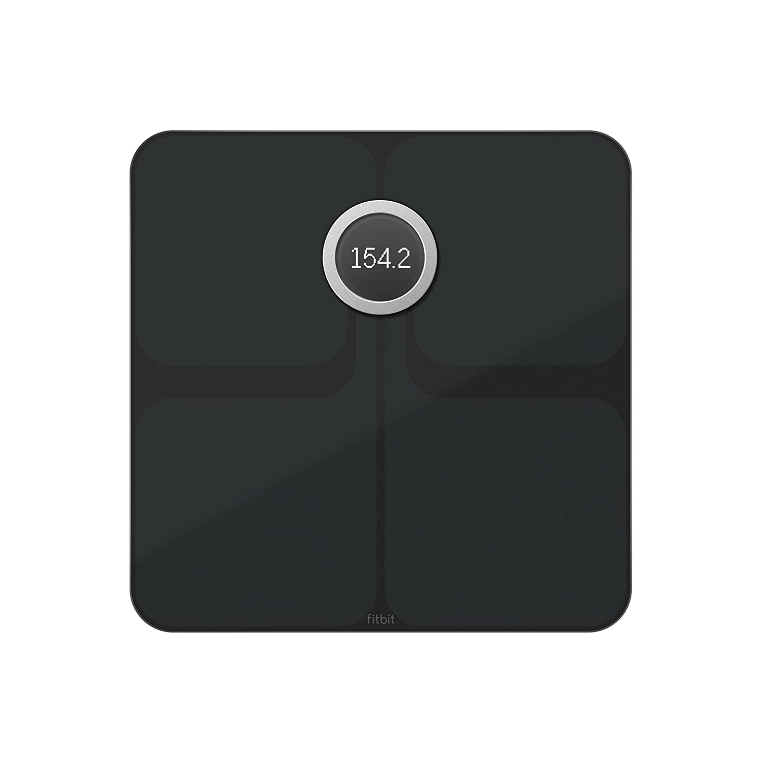 Image of Fitbit Aria 2 Wi-Fi Smart Scale Health and Household