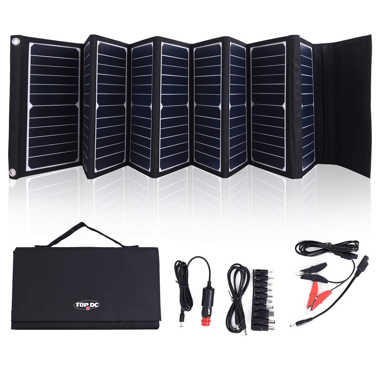 Cargador Solar Portatil de 60 Watts de Salida TOPDC