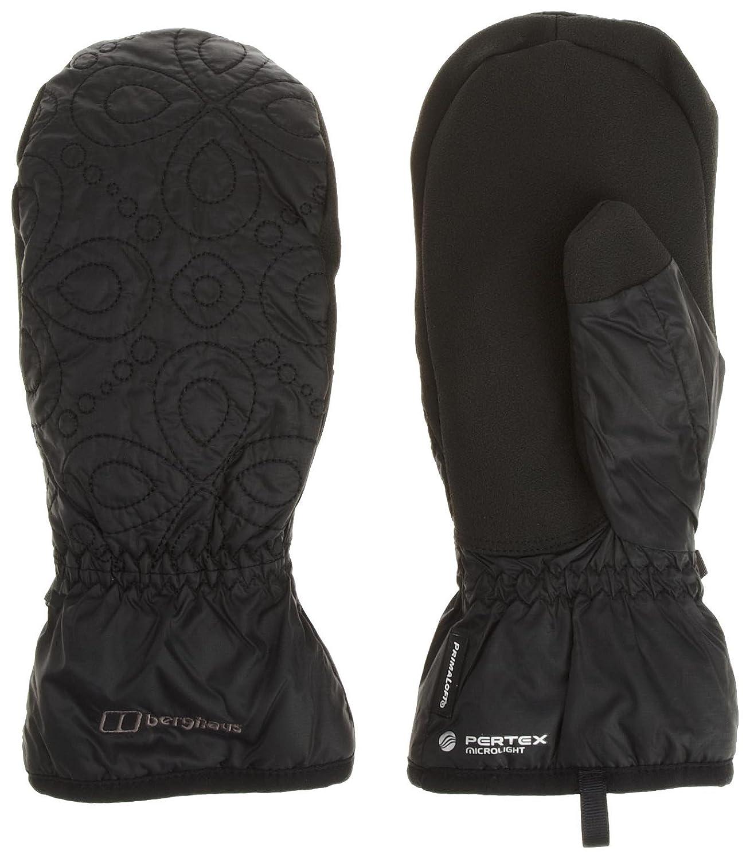 Black gloves sulit - Berghaus Ignite Mitt Mens Primaloft Insulated Mitt Black Large Amazon Co Uk Sports Outdoors