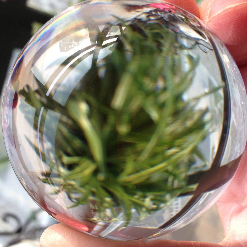 DSJUGGLING Dawson Juggling Clear Acrylic Contact Juggling Ball - Appx. 3'' - 75mm by DSJUGGLING (Image #2)