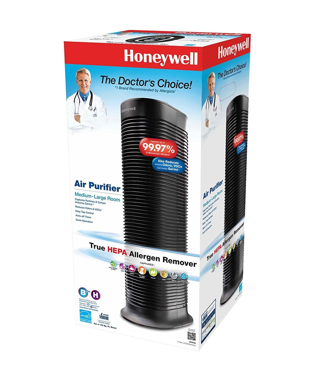 Honeywell HPA160 HEPA Filter, Tower Allergen Remover (Complete Set) w/ Bonus: Premium Microfiber Cleaner Bundle by Honeywell (Image #3)