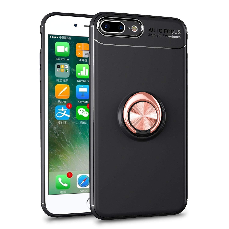 Amazon Com Hwt Iphone 8 Plus Case Iphone 7 Plus Ring Case 360
