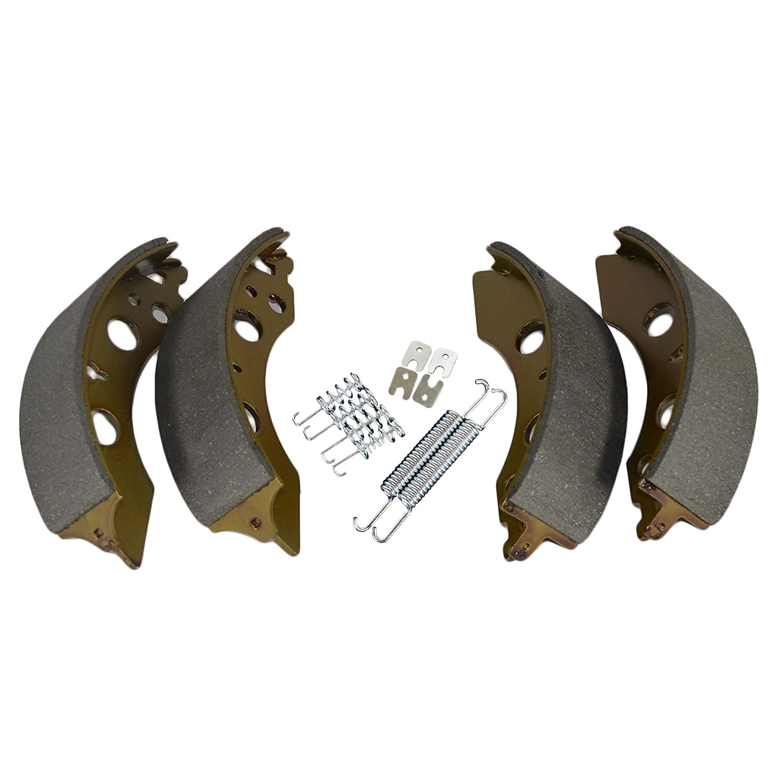 Mâ choires de frein de remorque Kit de ressort de remplacement 200mm x 50mm 2050 2051 Essieu ALKO AB Tools