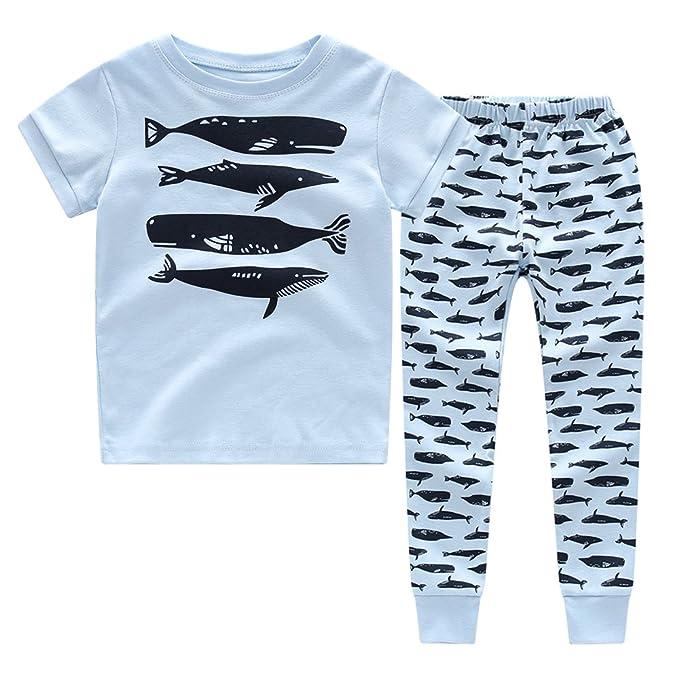 36f94fef0764 Amazon.com  CNBABY Boys Pajamas Astronaut-Luminous Or None-Luminous ...