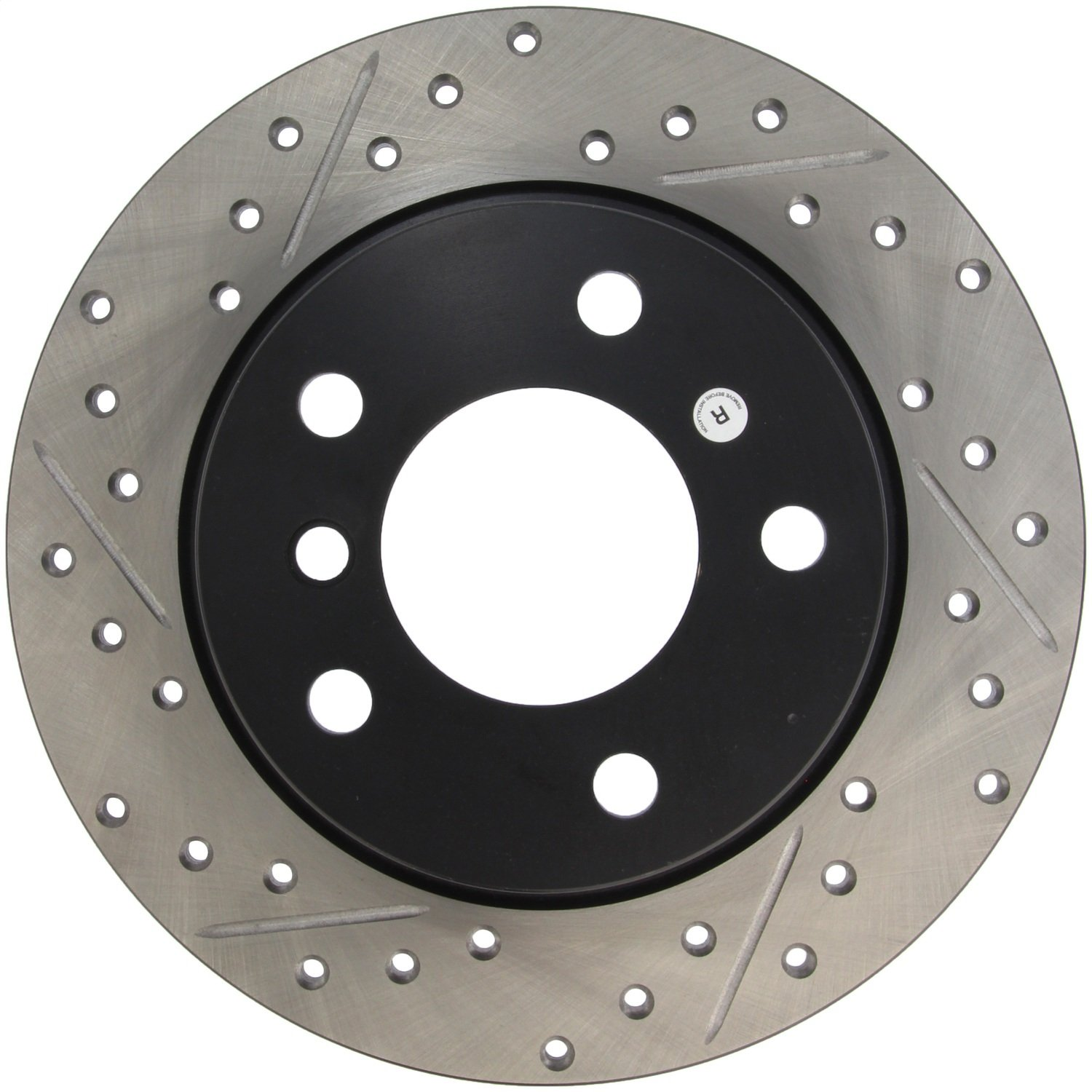 Rear Right 1 Pack StopTech 127.34030R Sport Drilled//Slotted Brake Rotor