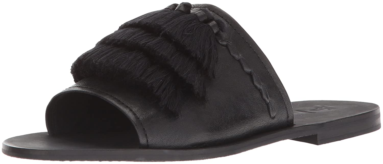 FRYE Women's Riley Tassel Slide Sneaker B074QT7NY2 7.5 B(M) US Black