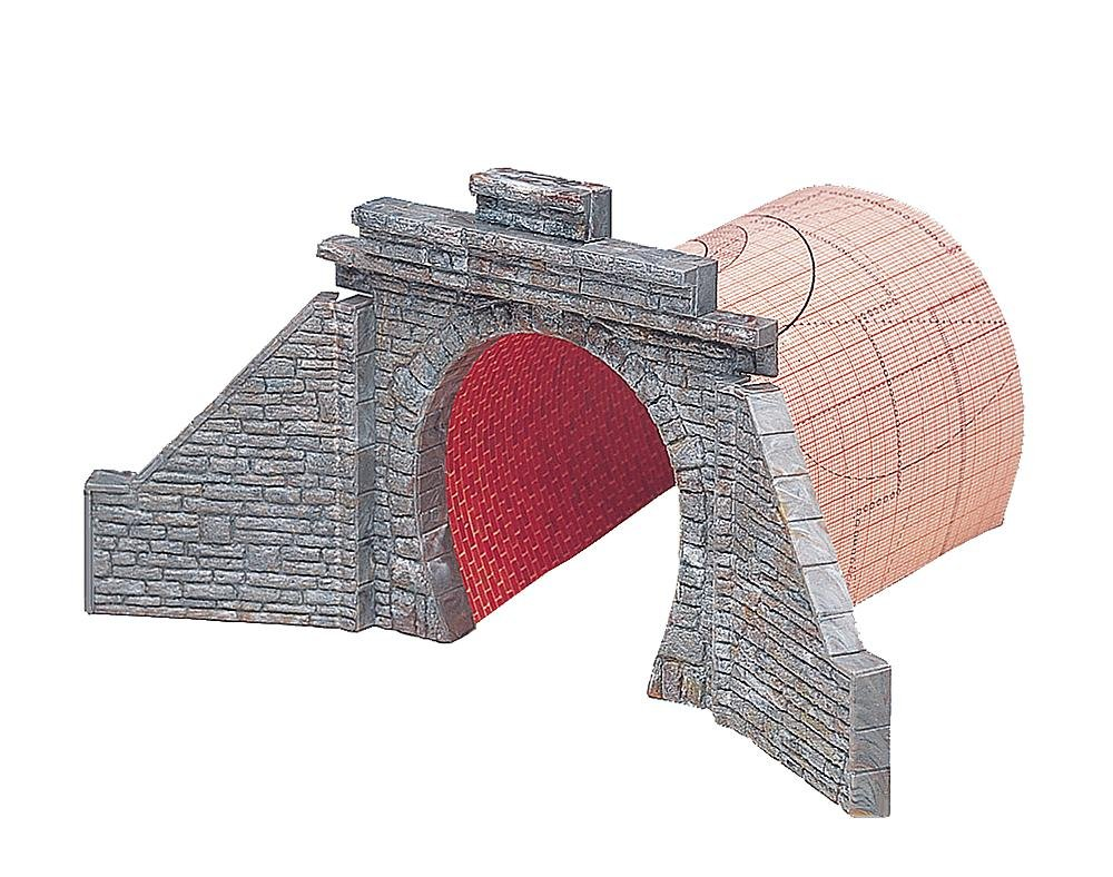 Faller 120558 Tunnel Portal Low 1-Track HO Scale Building Kit