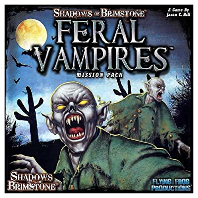 Flying Frog Productions FFP07MP01 Feral Vampires Mission Pack: Shadows of Brimstone, Multicoloured: Toys & Games