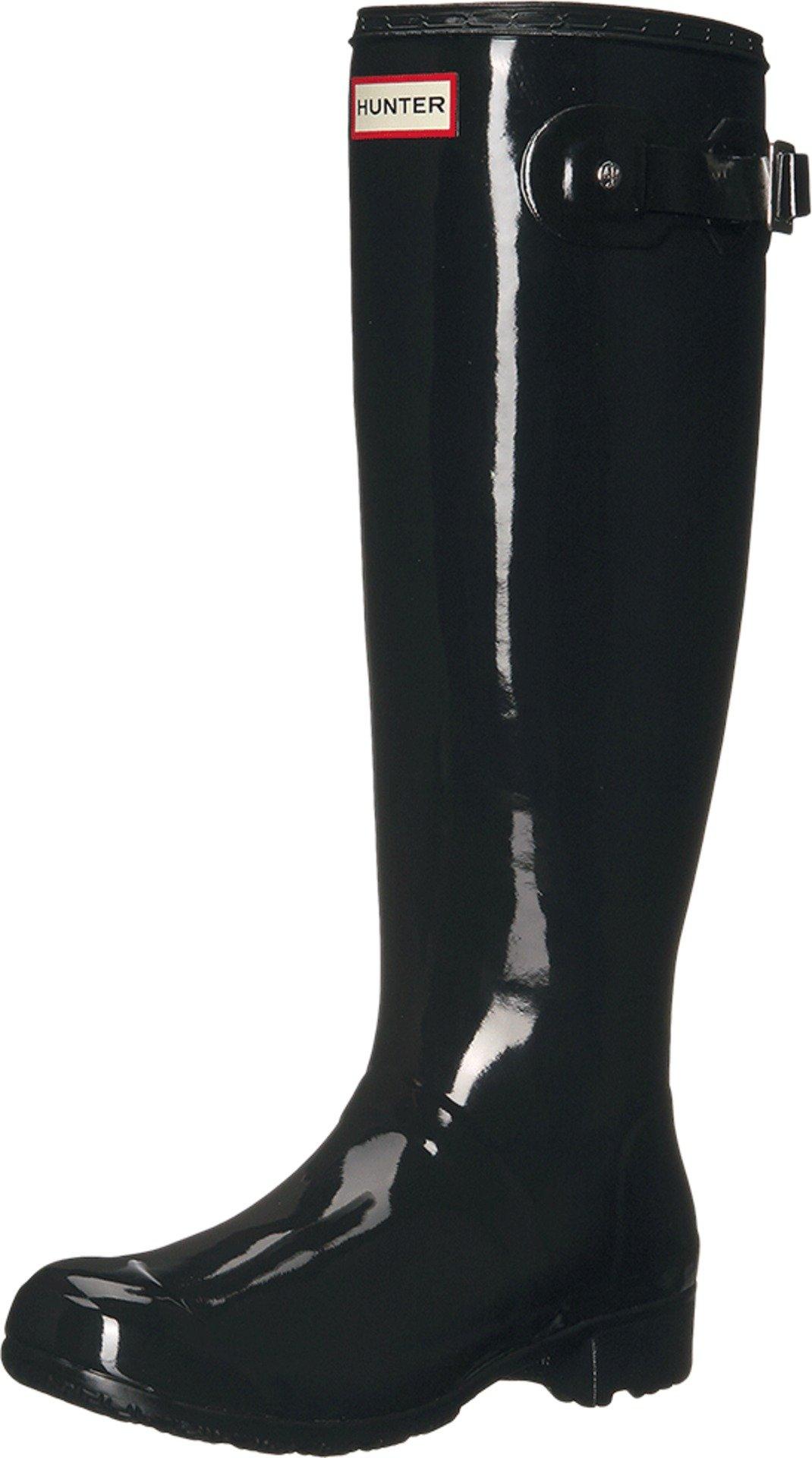Hunter Women's Original Tour Gloss Black Boot