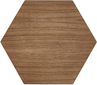 """product image for Epicurean, Walnut/Slate Hexagon Display/Serving Board, 17 14.5-Inch, 17"""" x 14.5"""""""