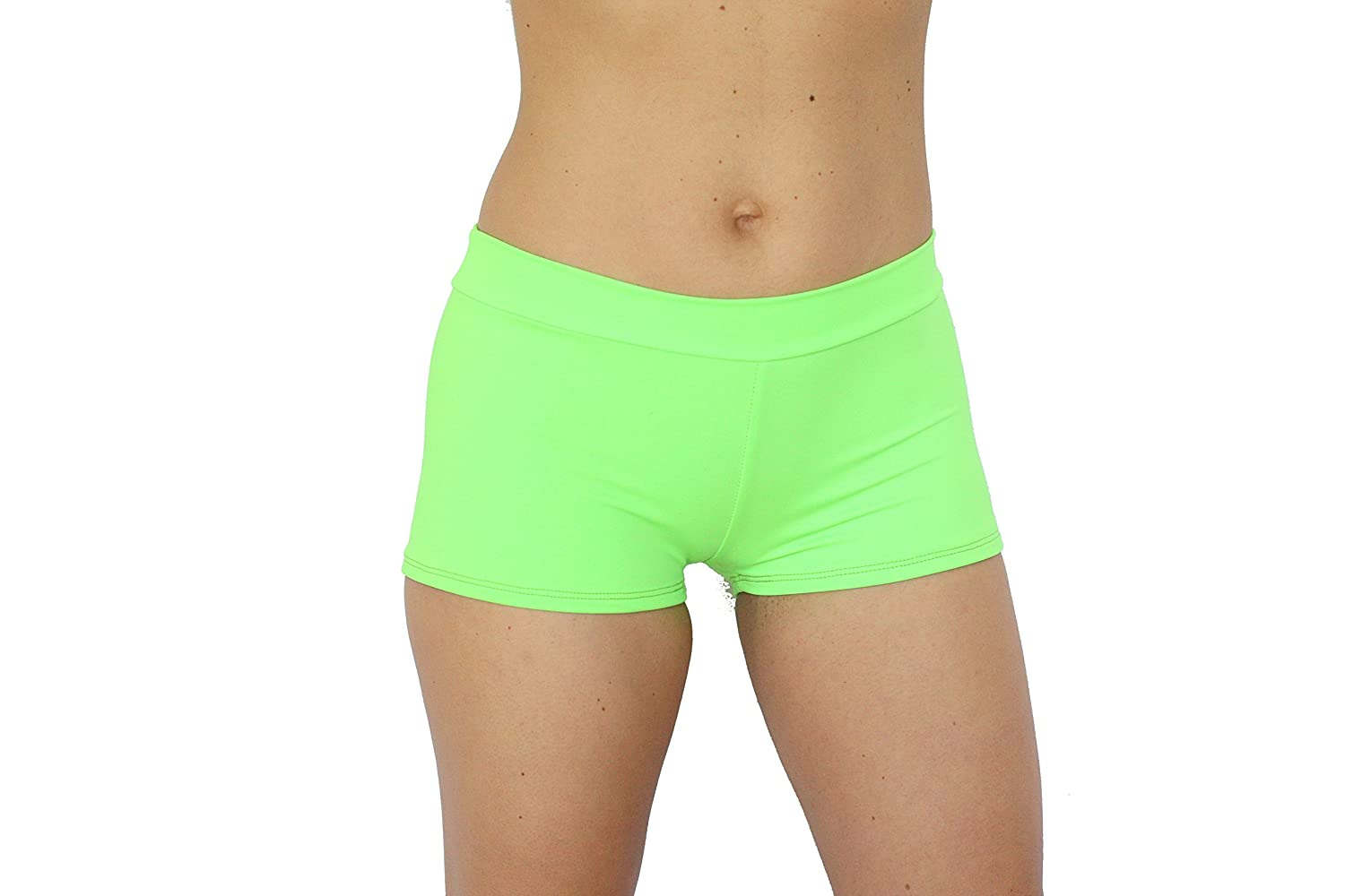 Ujena Fit Sporty Active Green Neon Boy Short Booty Short