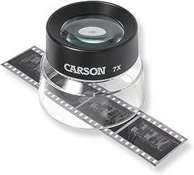 Carson 7x LumiLoupe Power Stand Magnifier Loupe