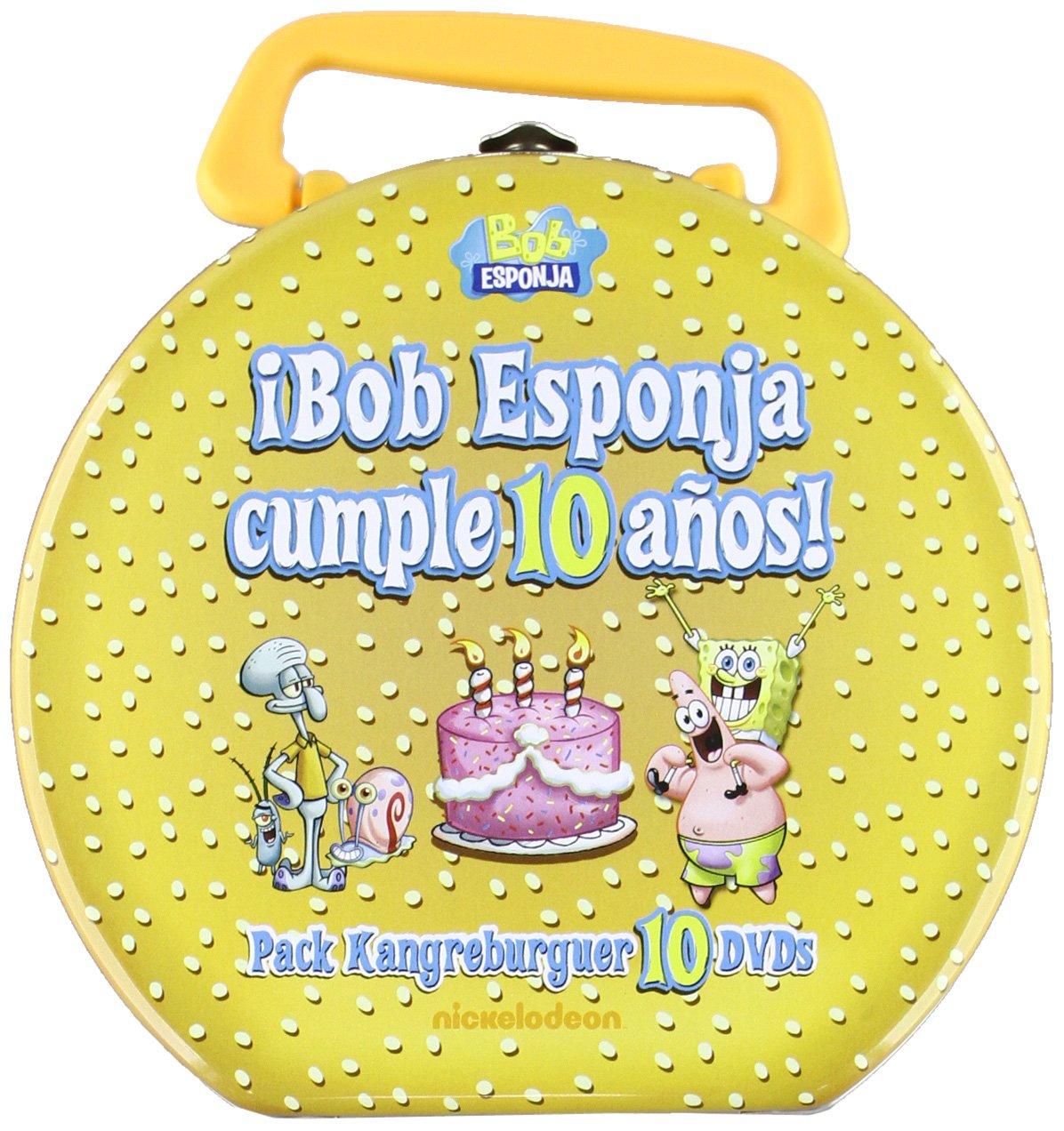 Bob Esponja Cumple 10 Años [DVD]: Amazon.es: Bob Esponja ...