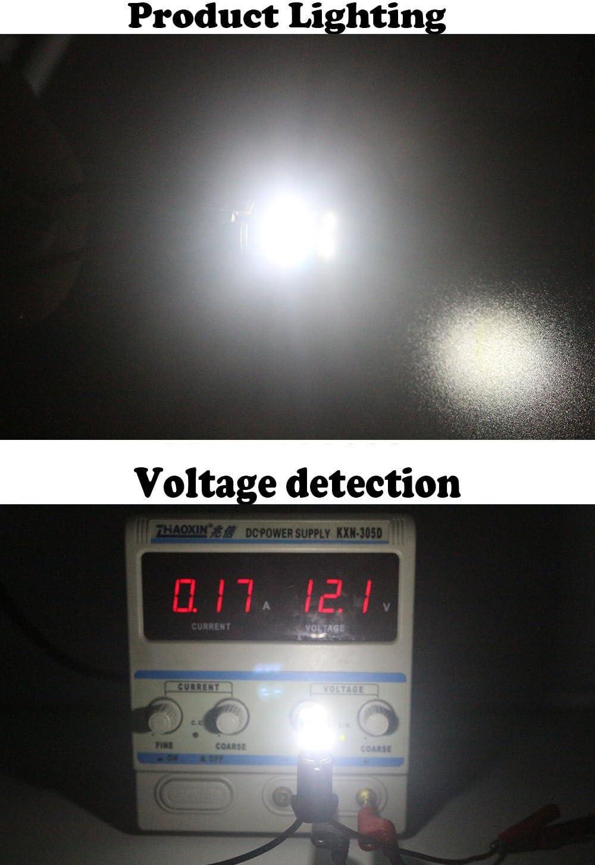 AMAZENAR 4-Pack T10 194 168 921 12V Giallo Canbus Senza Errori LED 9-SMD 2835 Lampadina di Ricambio per Auto per W5W 168 2825 Indicatori di Direzione