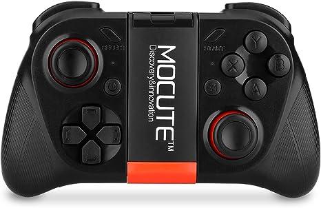 mocute 050 Gamepad Gamepad de juego bluetooth inalámbrico para Smartphone Tablet PC Smart TV – negro: Amazon.es: Informática