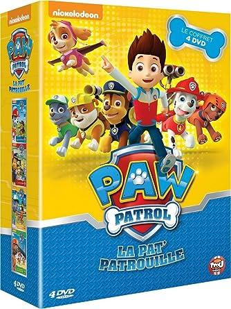 paw patrol la pat patrouille le coffret 4 dvd