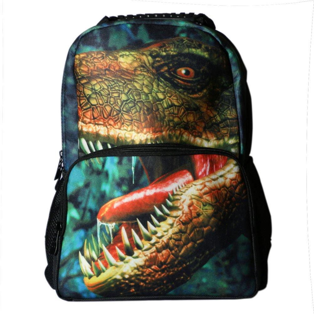 D Animal Print Mochila Escolar Bag Infantil Multifuncional Dinosaurio Multiple función Mochila