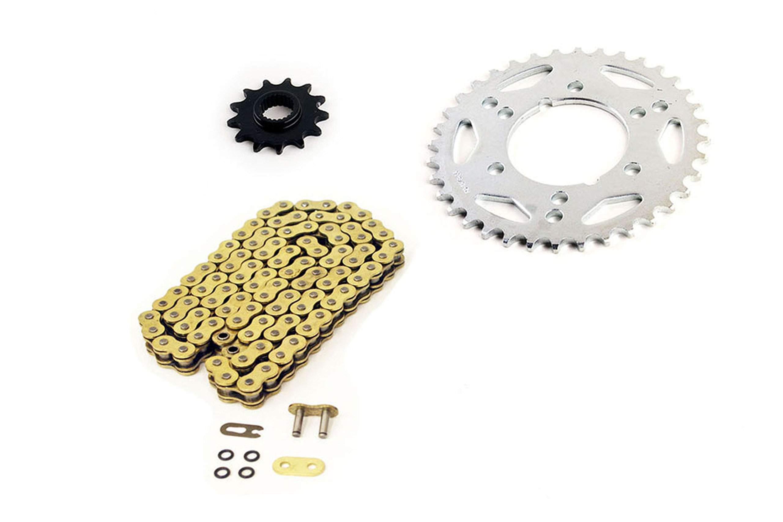 1999 Polaris Sport 400 Gold O-Ring Chain And Sprocket Set