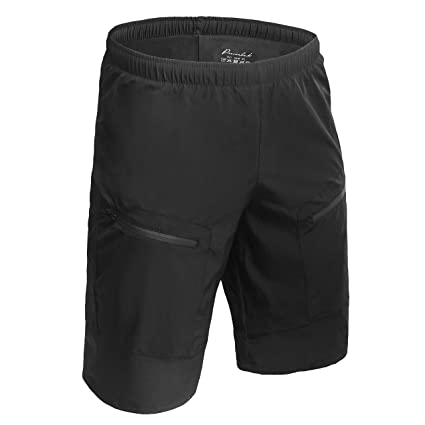 Przewalski Men s MTB Mountain Bike Cycling Shorts w Padded Underwear 45975620b