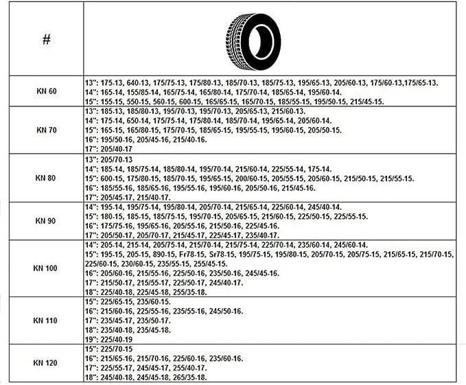 Tidyard 2er Schneeketten Anfahrhilfe Ketten Für Verschiedene Autoreifenbreite12mm 100 205 70 15 205 75 15 215 65 15 195 80 15 Snow Tire Ketten Winter Systeme Küche Haushalt