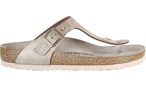 2d0db1064efe5 Birkenstock Thong 1008794 Gizeh VL Washed Metallic  Amazon.co.uk ...