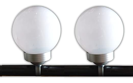 Solaire Balcon Solaires Led 2 X Lampe Lampes Lanterne zpLSVUMqG