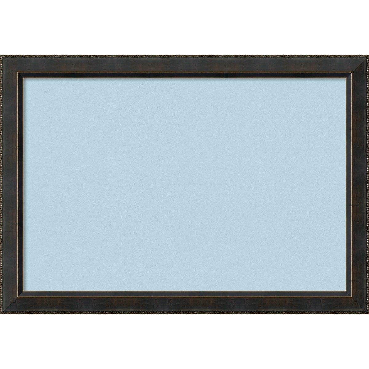 amanti art enmarcado azul tablero de corcho Pequeño, Signore bronce ...