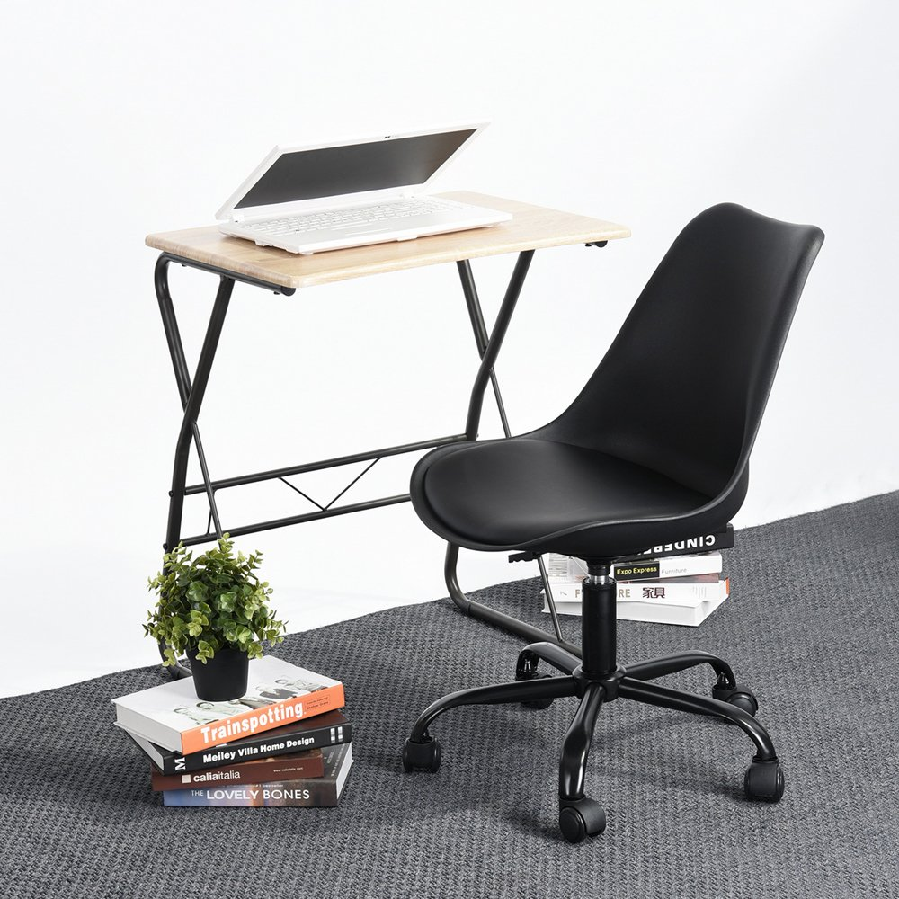 Executive | Gaming | Mesh | Task | Drafting | Conference | Reception | Office Chairs (Task, Black) by HOMY CASA (Image #2)