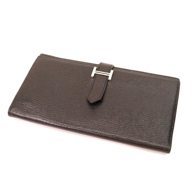 [エルメス]ベアンスフレ 長財布(小銭入れあり) シェーブル レディース (中古) B07FNDHSF5