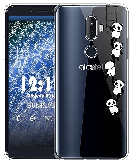 Sunrive Funda para Alcatel 3X, Silicona Slim Fit Gel ...