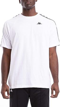 Kappa Blanco Camiseta 222 Banda Coen,A estrenar y genuina. Somos un vendedor autorizado de Kappa.,10