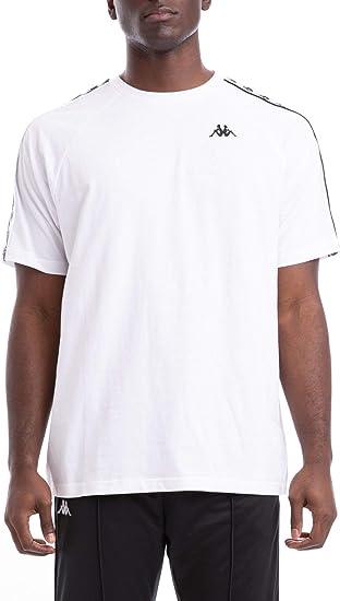 Black Kappa Men/'s 222 Banda Coen T-Shirt