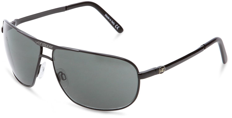 1c4e5b470c Amazon.com  Von Zipper Skitch Black Grey Lens Sunglasses SMWFQSKI  Shoes