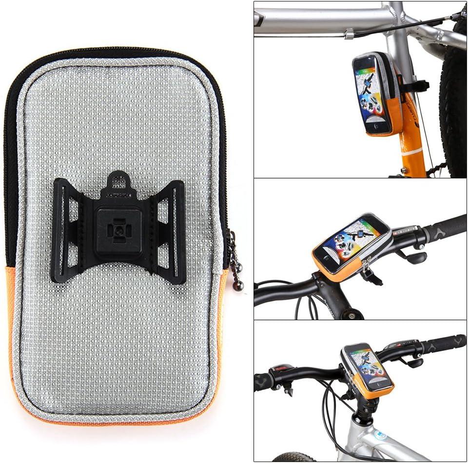 ROSWHEEL Bolsa Funda Porta Móviles para Soporte de Bici Bicicleta ...