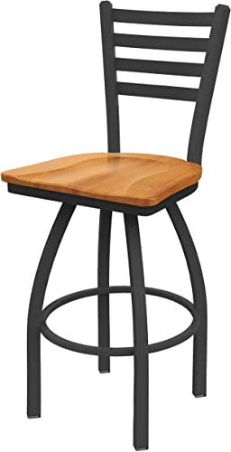 Holland Bar Stool Co. 41036PWMedMpl 410 Jackie Swivel Bar Stool