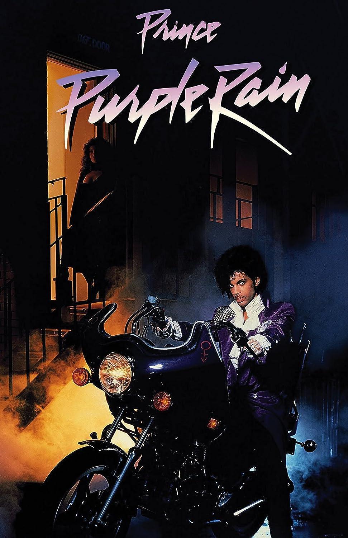 777 Tri-Seven Entertainment Prince Purple Rain Movie Poster, 11