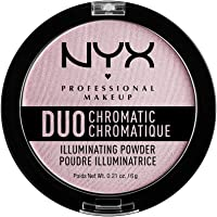 NYX Professional Makeup Duo Chrmtc Illuminating Powder - Lavender Steel